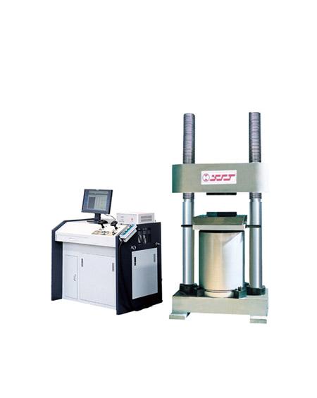 微机控制电液伺服压力机YAW-2000A 3000A